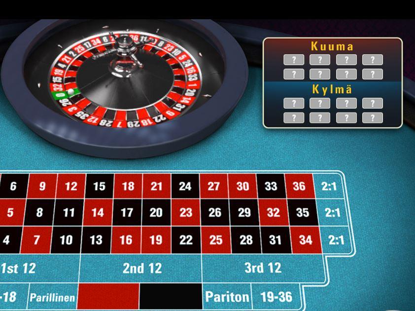 Sapphire Roulette -ruletti